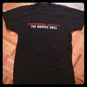 Paranormal Activity Black T-shirt